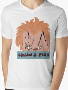 Chucky- Child's Play Mens V-Neck T-Shirt