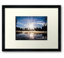 Beaver Lake Framed Print