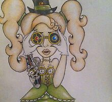 Steampunk Chick by Sarah Allen