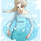 Frozen: Elsa by EmilyStrider