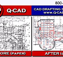 CAD Drafting Services – Before and After by q-cad