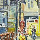 The yellow handbag, Block place by Virginia  Coghill
