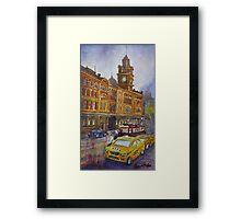 Flinders Street, Melbourne 1 Framed Print