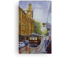 Flinders Street, Melbourne 2 Canvas Print