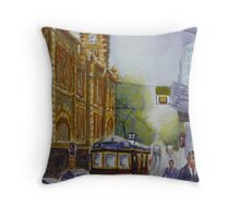 Flinders Street, Melbourne 2 Throw Pillow