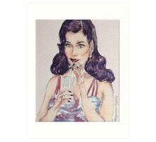 Retro Chic Art Print