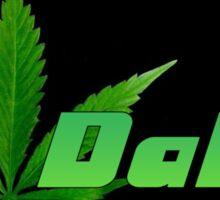 Dabs Leaf Sticker