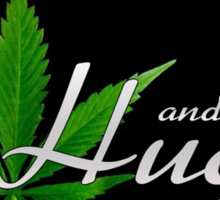 Hugs and Weed Sticker
