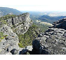 The Grampians Mountain Range, National Park . Vic.  Australia Photographic Print