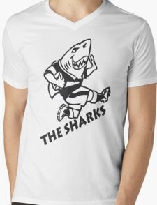 NATAL SHARKS FOR DARK SHIRTS SOUTH AFRICA RUGBY SUPER RUGBY Mens V-Neck T-Shirt