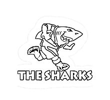 NATAL SHARKS FOR DARK SHIRTS SOUTH AFRICA RUGBY SUPER RUGBY  Photographic Print