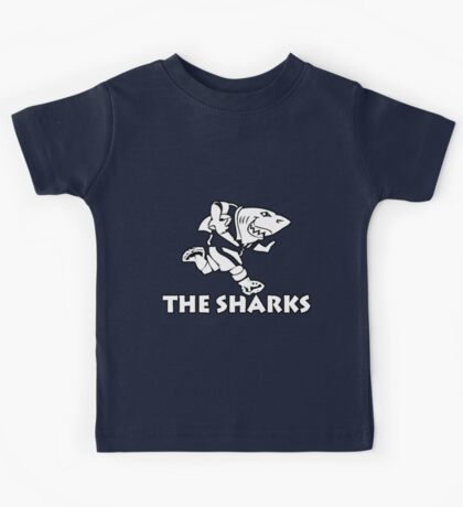 NATAL SHARKS FOR DARK SHIRTS SOUTH AFRICA RUGBY SUPER RUGBY  Kids Tee