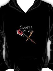 Slayer's Unite Crest (Buffy) V2 T-Shirt