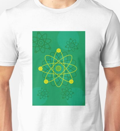 Modern Graphic Atomic Structure Unisex T-Shirt