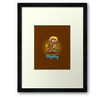 Digi - Fitties Framed Print