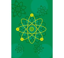Modern Graphic Atomic Structure Photographic Print
