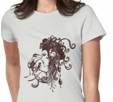 Tattoo Girl Womens Fitted T-Shirt