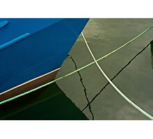 Moored-Hobart Photographic Print
