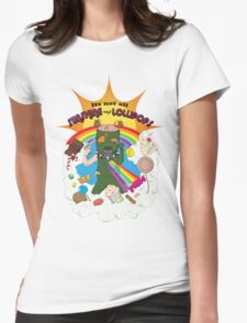 Sunshine and Lollipops Womens Fitted T-Shirt