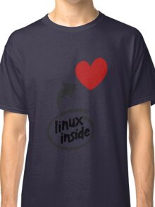 Linux inside my hearth Classic T-Shirt