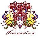Stained Glass Inezadora Medallion by inezadora