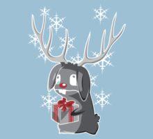 x-mas Bunny by digitalstoff