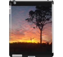 Farm sunset iPad Case/Skin