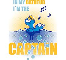 bathtub-captain Photographic Print