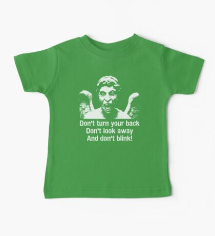 Weeping Angel, Don't Blink... Baby Tee