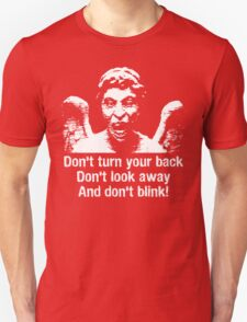 Weeping Angel, Don't Blink... Unisex T-Shirt