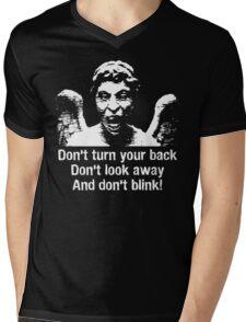 Weeping Angel, Don't Blink... Mens V-Neck T-Shirt
