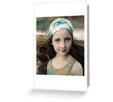 Dancer at Dusk Greeting Card