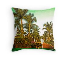 Fiddler's Creek Pool Throw Pillow