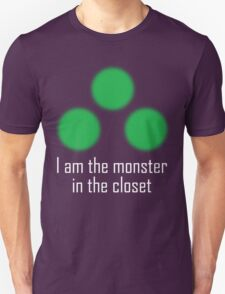 I am the monster in the closet ~ Sam Fisher Unisex T-Shirt