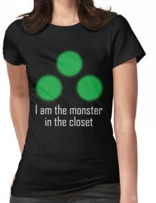 I am the monster in the closet ~ Sam Fisher Womens Fitted T-Shirt