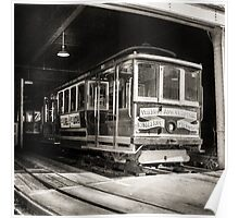 Vintage Streetcar Trolley 2014 Poster