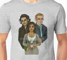 The Vampire, The Ghost and The Werewolf Unisex T-Shirt