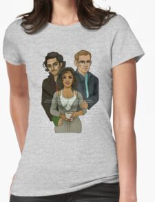 The Vampire, The Ghost and The Werewolf Womens Fitted T-Shirt