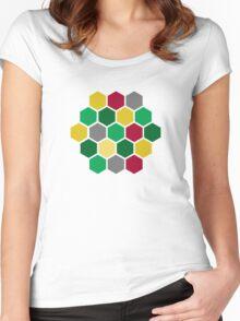 Minimalist Catan Women's Fitted Scoop T-Shirt