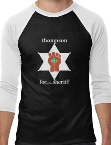 Hunter S Thompson, Gonzo Fist  Men's Baseball ¾ T-Shirt