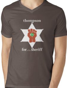 Hunter S Thompson, Gonzo Fist  Mens V-Neck T-Shirt