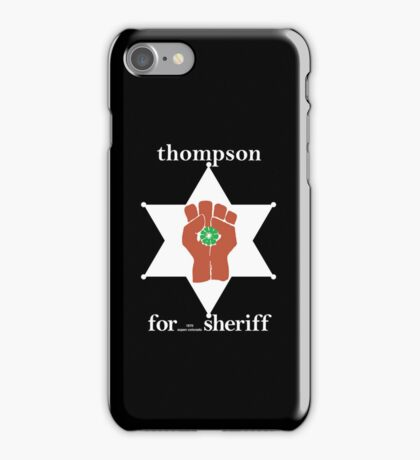 Hunter S Thompson, Gonzo Fist  iPhone Case/Skin