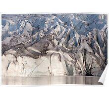 Svinafellsjokul glacier Poster