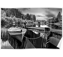 Loch Ard, The Trossachs,Scotland Poster