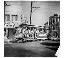 Vintage Streetcar Trolley 2498 Poster