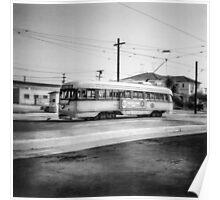Vintage Streetcar Trolley 2024 Poster