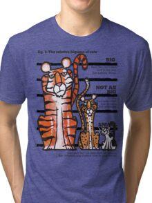 Bigness of cats top Tri-blend T-Shirt