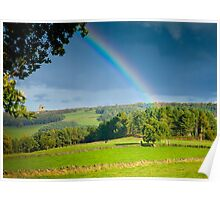Peak District Rainbow Poster