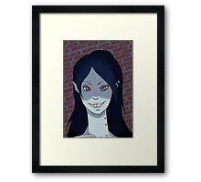 Vampire Queen Framed Print