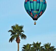 Pretty Blue Balloon by tvlgoddess